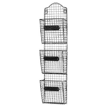 Aufbewahrung Baskets Eisen Wand Organizer Fur Bucher Organisieren