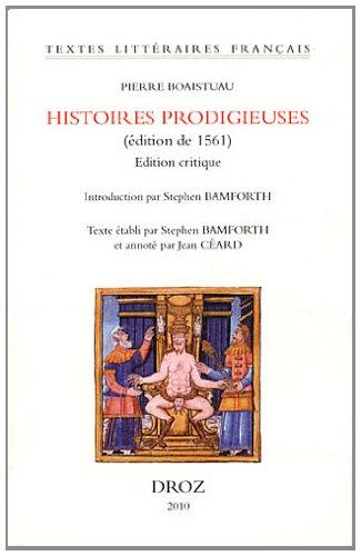 Histoires prodigieuses (édition de 1561)