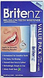 Britenz Teeth Whitening Pen Travel Pack Britenz 3 1.5 ml Pack