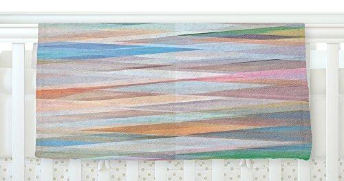 KESS InHouse Mareike Boehmer Nordic Combination II Rainbow Abstract Fleece Baby Blanket 40 x 30 [並行輸入品]   B077ZLHFVL