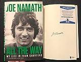 Joe Namath Signed Book All the Way BAS Beckett COA autograph NY Jets Super Bowl MVP -  signedbooksandcollectibles