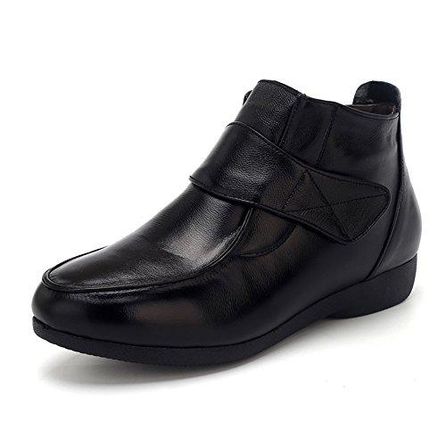 LIANGJUN Botines De Las Mujeres Zapatos Tacones Bajos Deportes Al Aire Libre Primavera, 9 Tamaños Disponibles, 4 Colores ( Color : Rojo , Tamaño : EU42=UK7.5=L:260mm ) Negro