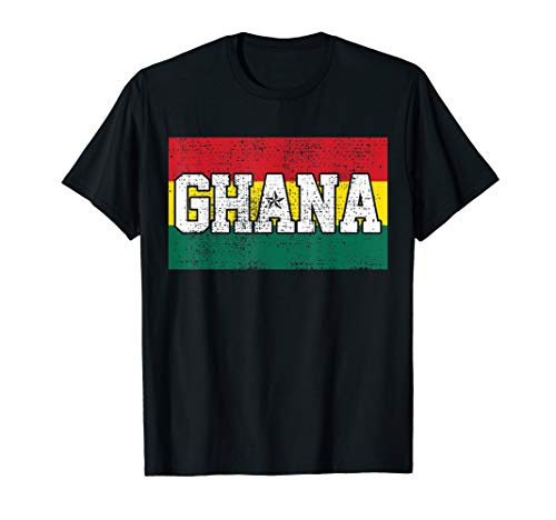 Buy ghana flag t shirt