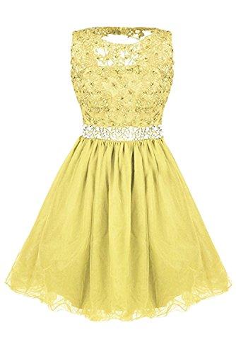 Ivydressing - Vestido - para mujer amarillo