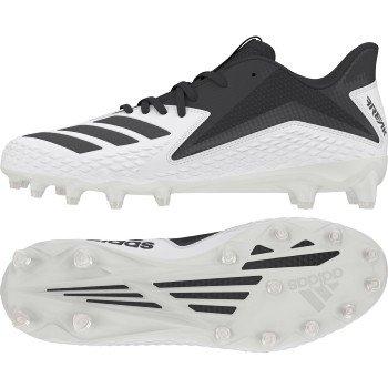 adidas Performance Men's Freak X Carbon Low Football Shoe, White/Black/Black, 11.5 M US
