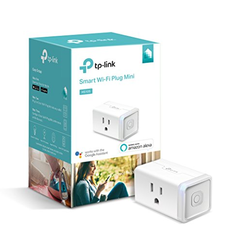 Kasa Smart WiFi Plug Mini by TP-Link - Reliable WiFi Connection, No Hub Required, Works with Alexa Echo & Google Assistant (HS105)
