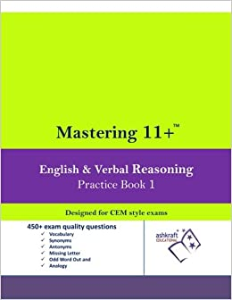 Mastering 11+ English & Verbal Reasoning Practice Book 1: Book 1