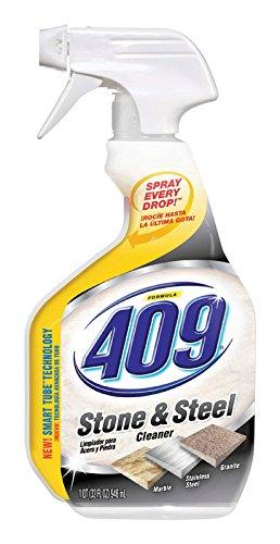Formula 409 30722 Stone and Steel Cleaner, 32 fl oz Spray Bo