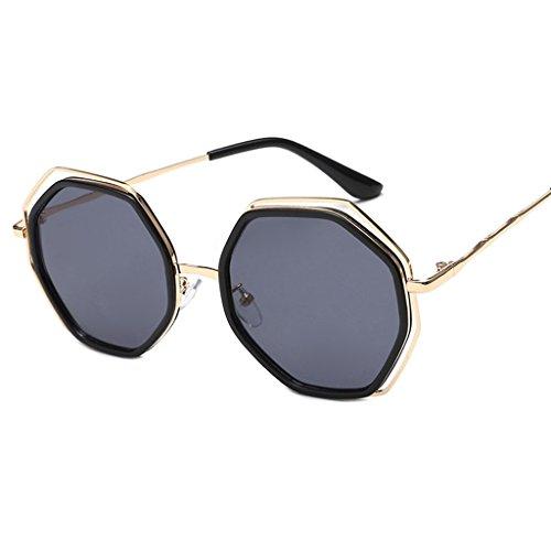 Gafas redondas los amp;Gafas de de elegantes Gafas de de las 3 sol de personalidad de de moda amp; Gafas LYM 4 X852 coreana Color señoras hombres sol la protecciónn nAq0czwWO
