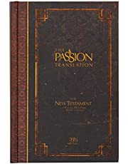 The Passion Translation New Testament (2020 Edition) HC Espresso: With Psalms, Proverbs, and Song of Songs (Hardcover) – A Perfect Gift for Confirmation, Holidays, and More
