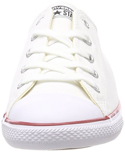 Converse C537204 Chuck Taylor All Star Dainty, Women Low-Top Sneakers White (White)