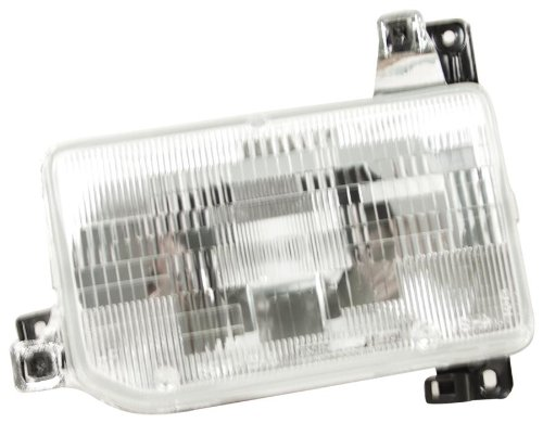 OE Replacement Nissan/Datsun Pathfinder/Pickup Driver Side Headlight Assembly Composite (Partslink Number NI2502104)
