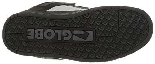 Globe Tilt, Sneaker Uomo Multicolore (Black/Charcoal/Lime)