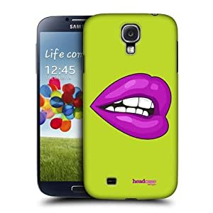 AIYAYA Samsung Case Designs Perfect Purple Hot Lips Protective Snap-on Hard Back Case Cover for Samsung Galaxy S4 I9500