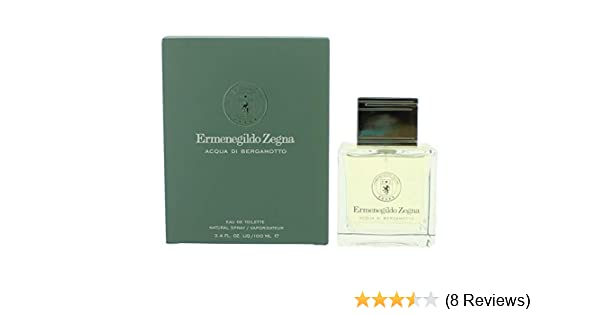 275f572a88c38 Amazon.com   Ermenegildo Zegna Acqua Di Bergamotto Eau De Toilette  3.4oz 100ml   Beauty