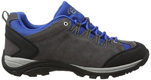 Bruetting Mount Bona Low - Zapatillas de senderismo Hombre Gris - Grau (grau/blau)