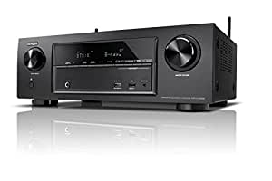 Denon AVR-X1300W 145W 7.1 Surround 3D Negro - Receptor AV (3.5mm, Surround, Am, FM, Alámbrico, AAC, AIFF, ALAC, FLAC, MP3, WAV, WMA, 2160p), Color Negro