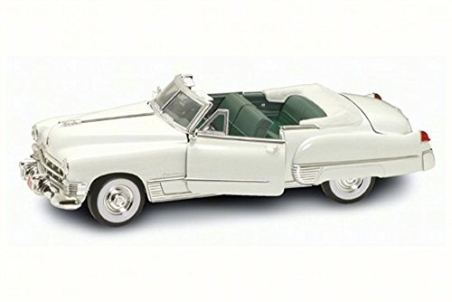 1949 Cadillac Coupe DeVille Convertible, White - Lucky 92308 - 1/18 Scale Diecast Model Toy Car