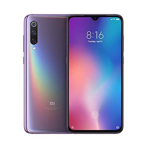 chollos oferta descuentos barato Xiaomi Mi 9 Smartphone de AMOLED de 6 39 4G Octa Core Qualcomm SD 855 2 8 GHz RAM de 6 GB Memoria de 64 GB cámara Triple de 12 48 16 MP Android Color Morado Lavanda Versión española