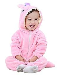 ShiyiUP Infant Baby Animal Flannel Costume