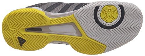 Grey F13 tech Adidas Da 4 Metallic Yellow gris Barricade Team Uomo dark 39 Tennis Scarpa Grigio 3 Silver bright x66vpgw
