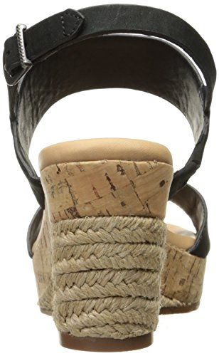 UGG Black Wedge Elena Women's Sandal TrRxTS