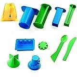 Minibaby 8pcs/set Castle Building Model Beach Toys Kit for Kids