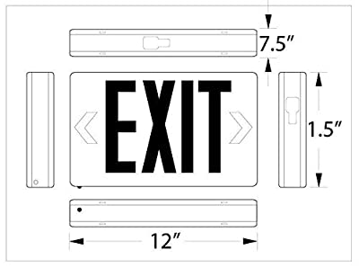 Corded Exit Sign