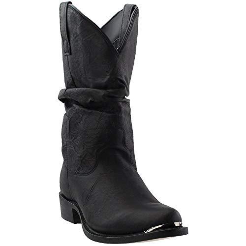 Dingo Men's Slouch Boot,Black,13 M -