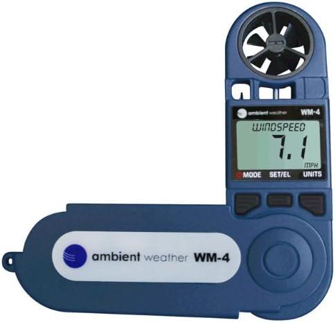 Ambient Weather WM-4 Handheld Weather Station