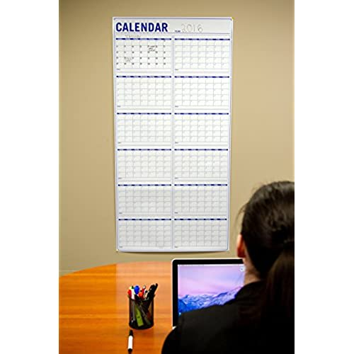 60 off new annual wall calendar large vertical dry erase event