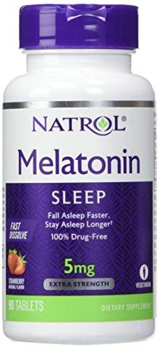 - Natrol Melatonin 5mg 90 Tablets