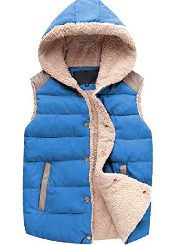 まぶしさ減る怖がって死ぬNicellyer レディース秋冬ユニセックスソフトと暖かいパフジャケットベスト