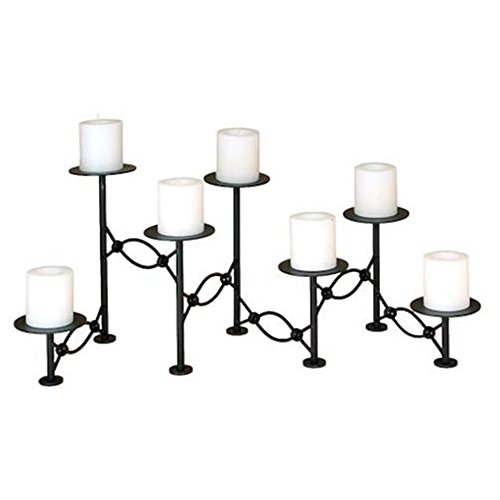 Chain Link Fireplace Candelabra