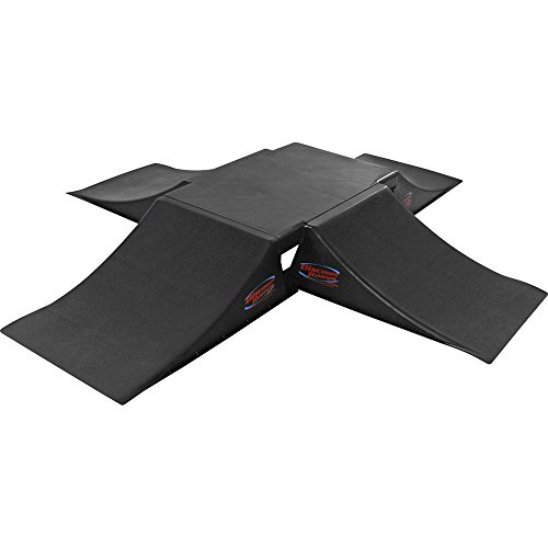 Ramp Skateboard Plastic (Discount Ramps SK-905-4RK Black 12