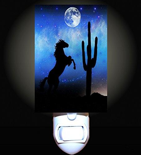 Midnight Ride Decorative Night Light (Night Western Light)