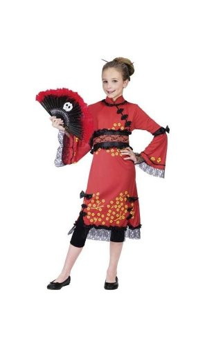 China Doll Costume - Toddler Costume - (3T to 4T)