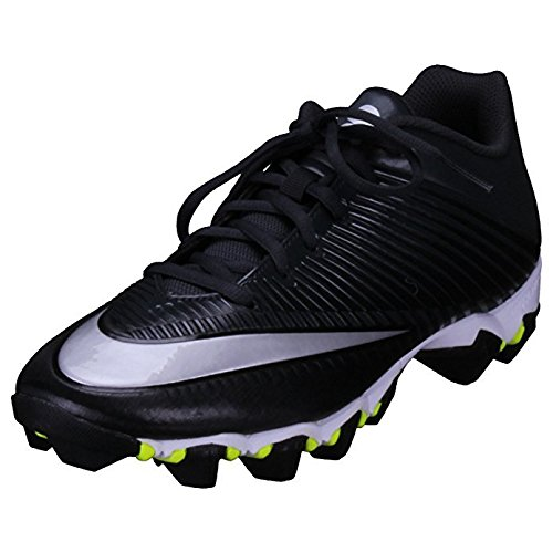 Nike Men's Vapor Shark 2 Football Cleat Black/Anthracite/Metallic Silver Size 11 M US
