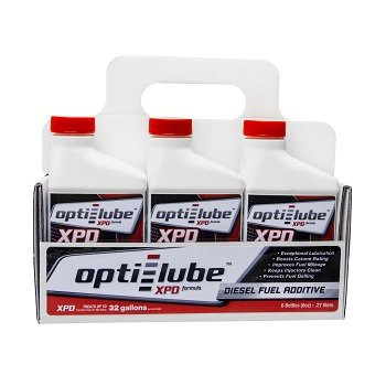 Opti-Lube XPD Formula Diesel Fuel Additive: 8oz 6 pack Treats up to 32 Gallons per 8oz bottle