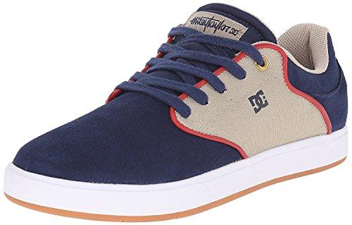 DC Mens Mikey Taylor Skateboarding Shoe, Navy/Khaki, 39 D(M) EU/6 D(M) UK