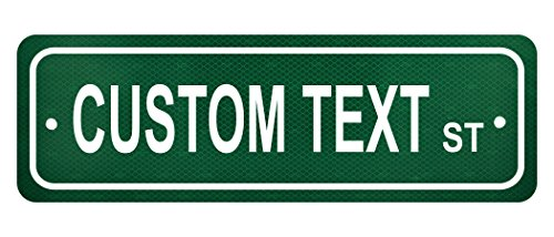 (Personalized Street Sign Custom Text - 6