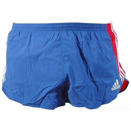 Atletismo Azul Pantalón Xxs Adidas Splitshorts Corto Hombre De OkXZPui