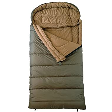 TETON Sports Celsius XXL -18C/0F Sleeping Bag, Green, Left Zip