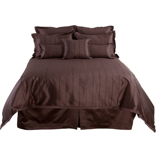 Veratex The Braxton Collection 100% Polyester U.S.A. Made Decorative Contemporary Bedroom Boudoir Pillow, Chocolate