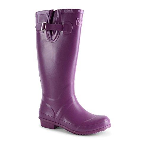 Footwear Sensation - Botas de agua de sintético mujer púrpura - Plum
