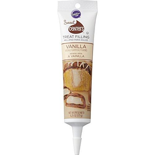 Wilton 710-4541 Sweet Centers Treat Filling-Vanilla, 6.25 oz
