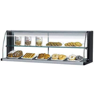 (TOMD30HB 28 Non Refrigerated Top Case for Open Display Merchandiser: Slim Line Black)