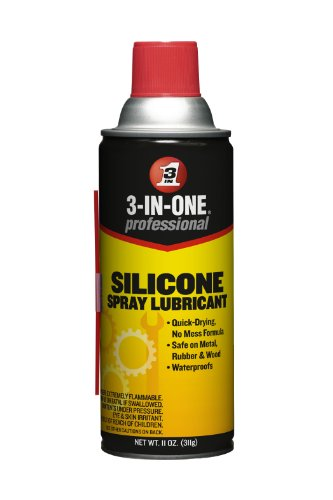 (3-IN-ONE 10041 Professional Silicone Spray Lubricant, 11 Oz.)