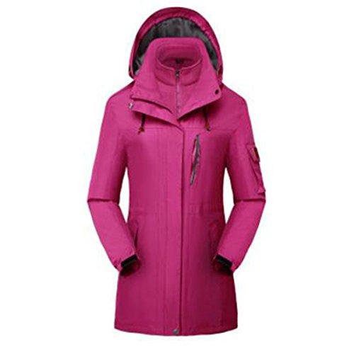 Sport Alpinismo Uno Sezione Lai Wu Tre Due Donna Pezzi Purple In Medio Giacche lunga 01wz8qr0