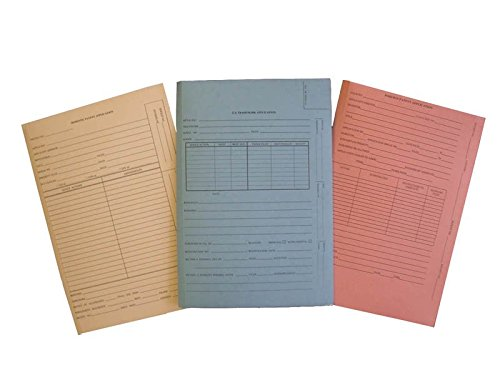 No Tab for Drawer Filing DOMESTIC PATENT APPLICATION Patent and Trademark Folder Manila Box of 25